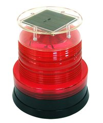 Solar led warning light with magnet Product Photo