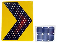 Solar led direction signal Product Photo