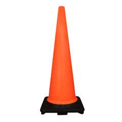 900mm Black Base Traffic Cone Product Photo