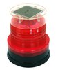 solar led warning light with magnet